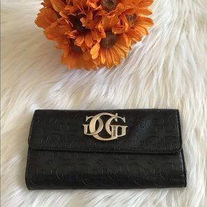 Vintage G by Guess Black Leather Wallet